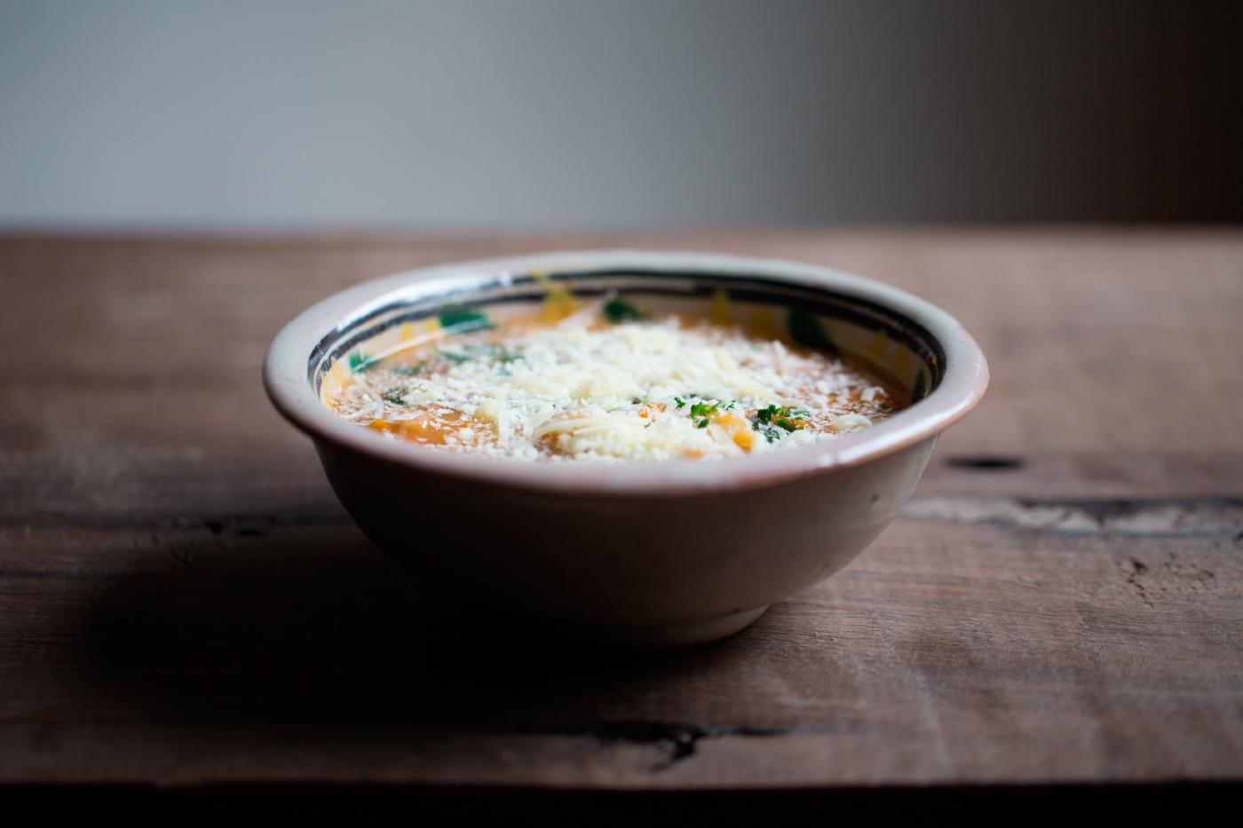 Sopa de camote